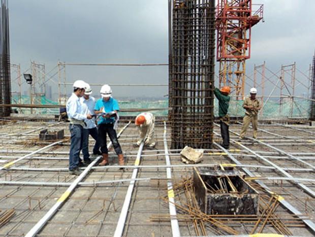 Công tác xây lắp khu vực Depo của tuyến đường sắt Cát Linh - Hà Đông đang chậm tiến độ đề ra. (Ảnh minh họa)