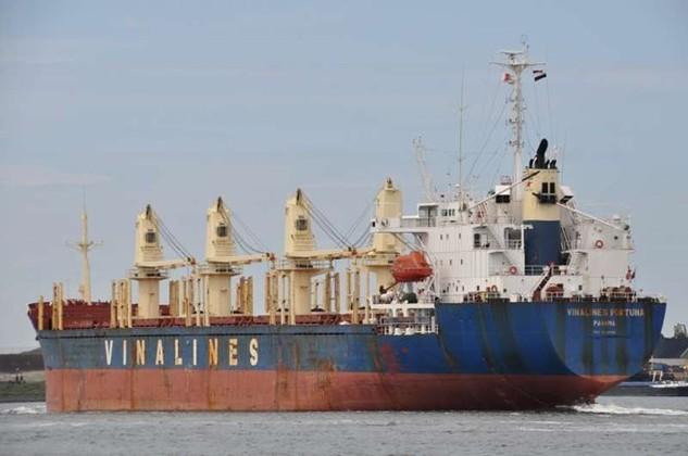 Tàu Vinalines Trader năm đóng 1997, trọng tải 69.614 DWT được Vinalines thanh lý. (Nguồn: shipspotting)