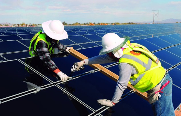 Khu vực tư nhân được khuyến khích đầu tư vào lĩnh vực năng lượng tái tạo. Ảnh: Minh Hương