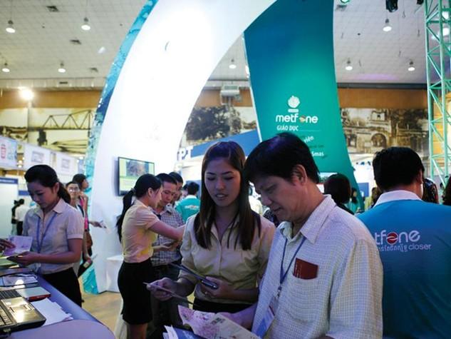 Mạng Metfone của Viettel đã trở thành thương hiệu viễn thông giá trị nhất tại Campuchia. Ảnh: Đ.T