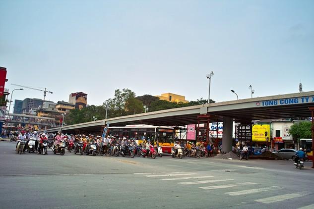 Thủ tục chủ trương đầu tư xây dựng cầu vượt tại nút giao Chùa Bộc - Phạm Ngọc Thạch đang được hoàn thiện. Ảnh: Nhã Chi