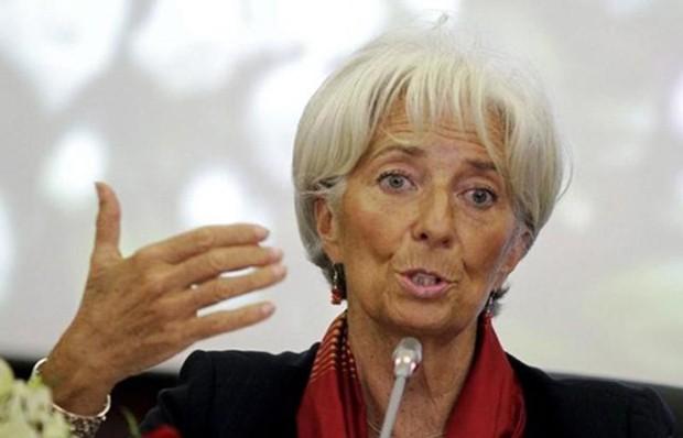 Bà Christine Lagarde - Giám đốc Quỹ Tiền tệ Quốc tế (IMF). Ảnh: Reuters