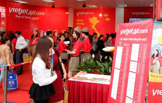 3,000 vé Vietjet giá từ 0 đồng tại Hội chợ Du lịch Quốc tế Đà Nẵng 2016