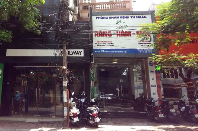 Chi nhánh của Công ty CP Mỏ và Xuất nhập khẩu khoáng sản Miền Trung tại Hà Nội là một… cơ sở chăm sóc sức khỏe. Ảnh: Minh Tuấn st