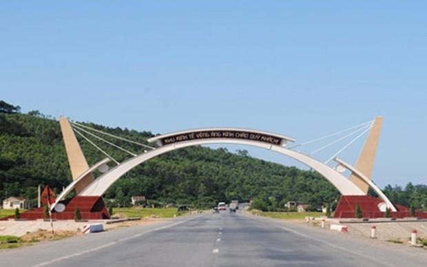 Một góc khu kinh tế Vũng Áng.