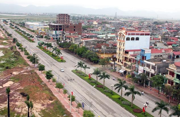 Công ty TNHH Xây dựng Tân Thịnh đã thực hiện nhiều dự án lớn trên địa bàn tỉnh Bắc Giang. Ảnh: Lê Tiên