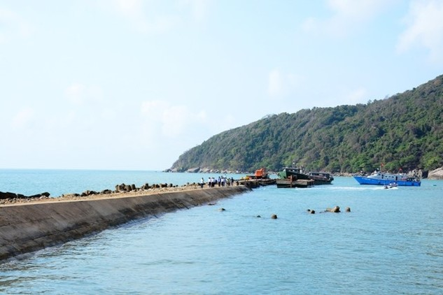 Một góc Đảo Hòn Khoai