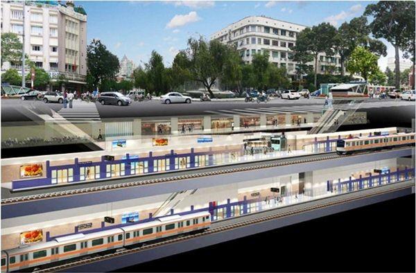 Đã xác định được nhà thầu xây ga ngầm đầu tiên trên tuyến Metro số 1 Bến Thành - Suối Tiên