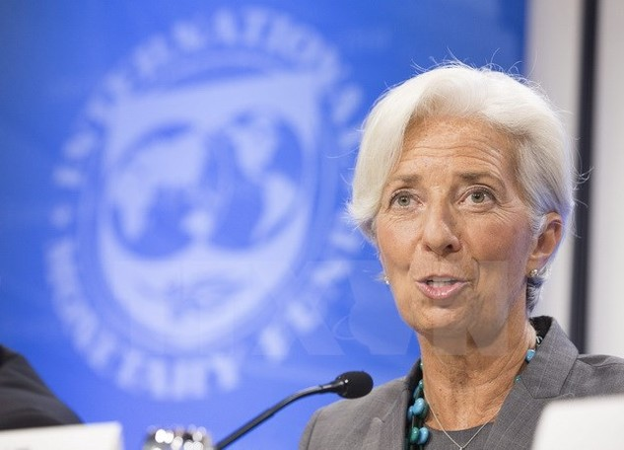 Tổng Giám đốc IMF Christine Lagarde. (Nguồn: EPA/TTXVN)