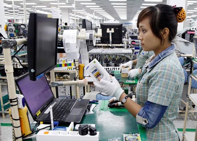 Nhiều dự án FDI có quy mô vốn lớn đang bước vào giai đoạn giải ngân. Ảnh: Chiến Thắng