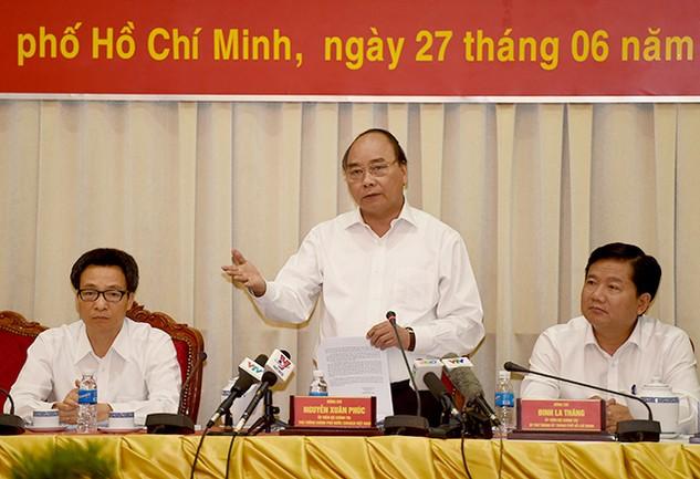 UBND TP.HCM đề xuất Thủ tướng Chính phủ nhiều cơ chế đặc thù để phát huy tối đa thế mạnh của Thành phố. Ảnh: Quang Hiếu