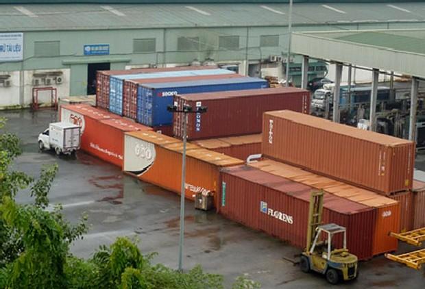 Cảng nội địa (ICD) Mỹ Đình mới được xây dựng tại xã Đức Thượng, huyện Hoài Đức, TP. Hà Nội. Ảnh: Interserco.com.vn