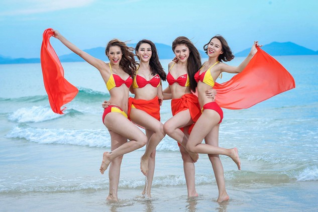 """Bikini Vietjet tỏa sáng cùng Cuộc thi """"Gương mặt Thương hiệu"""""""