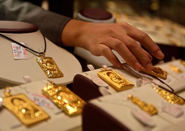 Từ đầu năm, giá vàng thế giới đã tăng 28%. Ảnh: Reuters