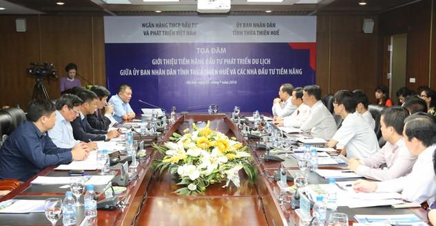 Thừa Thiên Huế đẩy mạnh xúc tiến đầu tư, phát triển du lịch