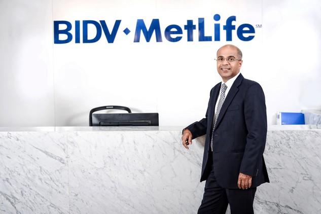 Ông Gaurav Sharma, Tổng Giám đốc Công ty TNHH Bảo hiểm Nhân thọ BIDV MetLife tại Việt Nam