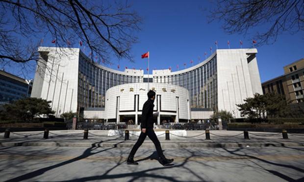 Trụ sở Ngân hàng Trung ương Trung Quốc (PBoC) ở Bắc Kinh.