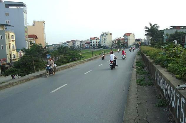 Dự án gần 3.000 tỷ đồng xây khu chức năng đô thị hai bên tuyến đường từ đê Ngọc Thụy đi Khu đô thị mới Thượng Thanh (Hà Nội) có quy mô hơn 380 nghìn m2. Ảnh: Lê Tiên
