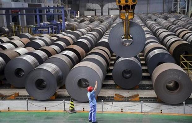 Trung Quốc hiện sản xuất một nửa số thép trên thế giới. Ảnh: Reuters