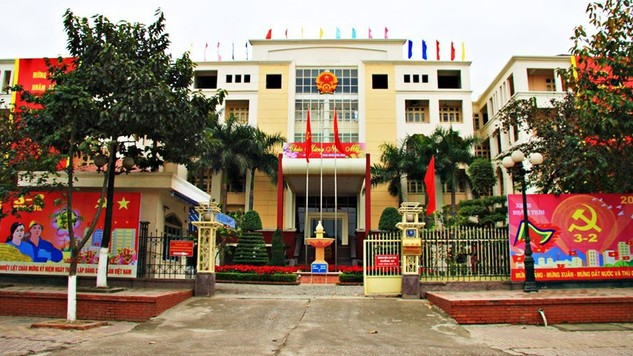 UBND quận Thanh Xuân. Ảnh Internet