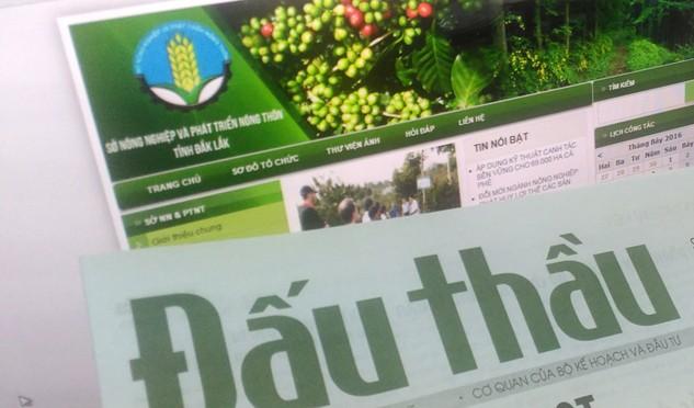 Báo Đấu thầu theo sát vụ cướp HSDT xảy ra trước cổng trụ sở Sở Nông nghiệp và Phát triển nông thôn Đắk Lắk. Ảnh: Tường Lâm