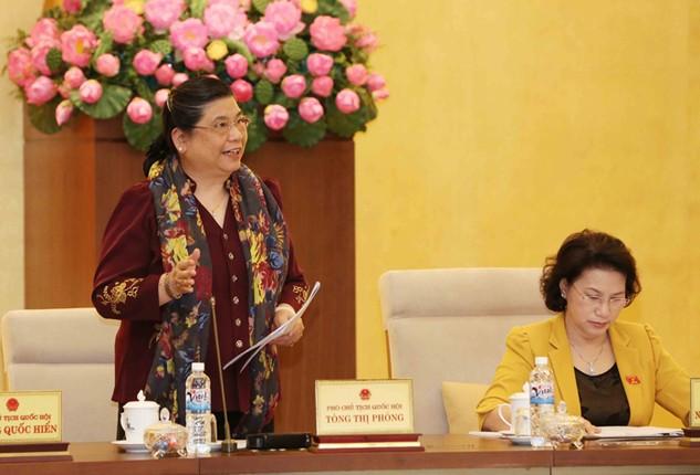 Ủy ban Thường vụ Quốc hội đã đề xuất 4 nội dung giám sát chuyên đề năm 2017. Ảnh: Phương Hoa