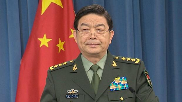 Bộ trưởng Quốc phòng Trung Quốc Thường Vạn Toàn. Ảnh: ChinaDaily