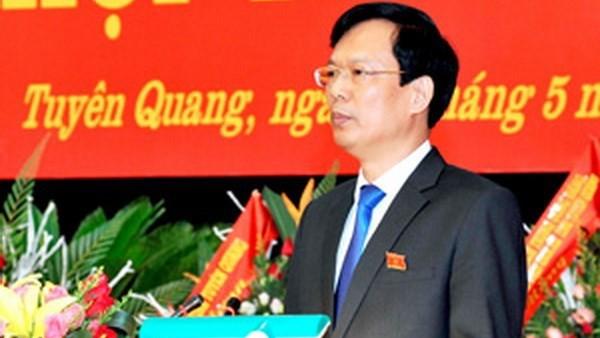 Chủ tịch UBND tỉnh Tuyên Quang Phạm Minh Huấn