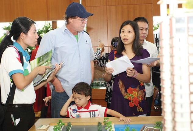 Thị trường bất động sản Việt Nam đang rất hấp dẫn trong mắt của nhà đầu tư nước ngoài. Ảnh: Lê Toàn