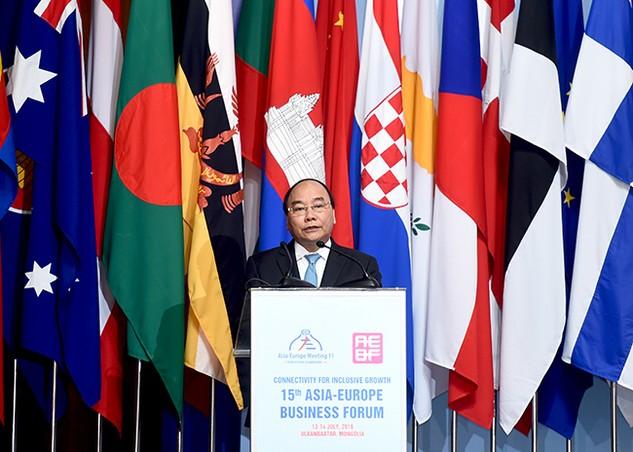 Việt Nam rộng cửa hợp tác, đầu tư với các doanh nghiệp Á-Âu