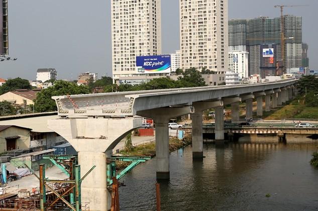 Gói thầu 1a thuộc Tuyến đường sắt Bến Thành - Suối Tiên có giá trúng thầu là 4,805 tỷ yên và 3.939 tỷ đồng. Ảnh: Lê Tiên