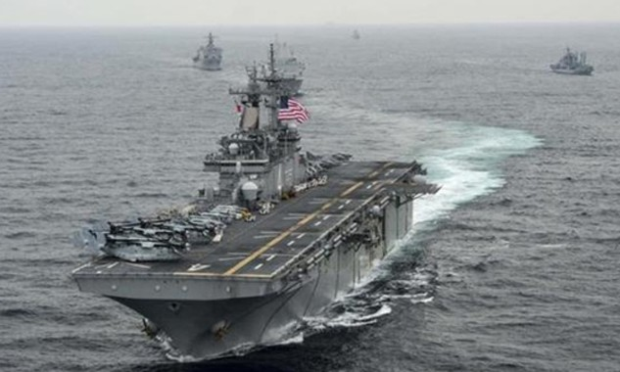 Mỹ tuyên bố sẽ tiếp tục tuần tra ở Biển Đông bất chấp chỉ trích từ Trung Quốc. Ảnh minh họa: Reuters.