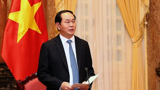 Ông Trần Đại Quang là nhân sự duy nhất được giới thiệu để bầu Chủ tịch nước. Ảnh: Nhật Bắc