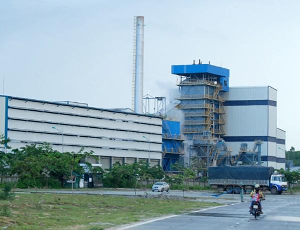 Nhà máy xăng sinh học Bio Ethanol Dung Quất có vốn đầu tư 2.019 tỷ đồng. Ảnh:V.M