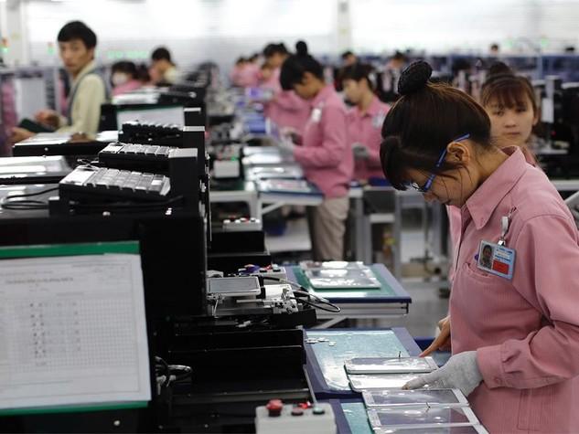 Sau Samsung, ngày càng nhiều doanh nghiệp Hàn Quốc đã và đang tìm đường tới Việt Nam để mở cơ sở sản xuất mới. Ảnh: Đức Thanh