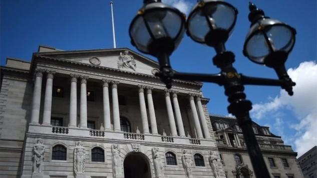 Trụ sở Ngân hàng Trung ương Anh (BoE) ở London, Anh - Ảnh: EPA/BBC.