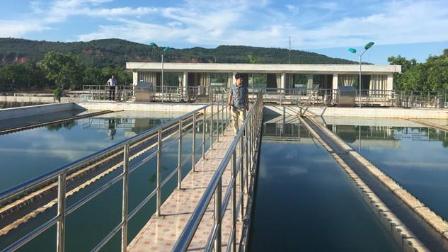 Nhà máy Nước Bình Minh đã đầu tư từ năm 2007 đang cấp nước cho khu vực. Ảnh: Nguyễn Văn