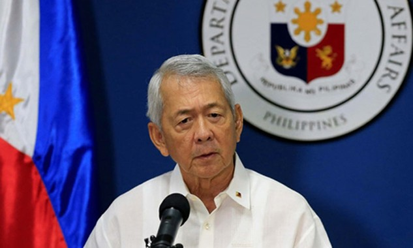 Ngoại trưởng Philippines Perfecto Yasay. Ảnh: ABS CBN.