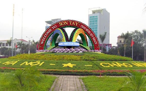 Sơn Tây đã từng là thành phố trước khi Hà Tây sáp nhập vào Hà Nội.