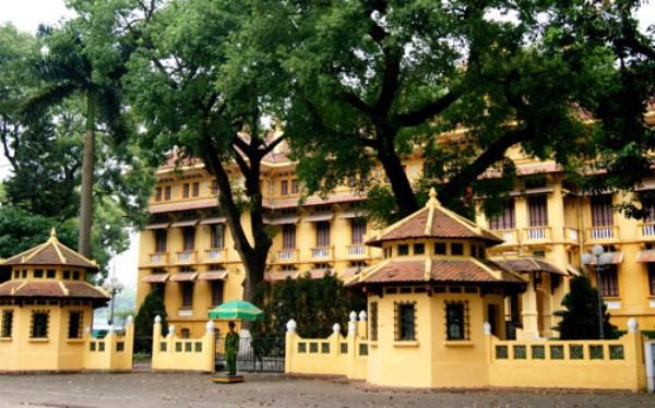 Trụ sở Bộ Ngoại giao tại khu Ba Đình.