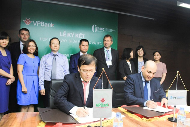 IFC cung cấp 125 triệu USD cho VPBank