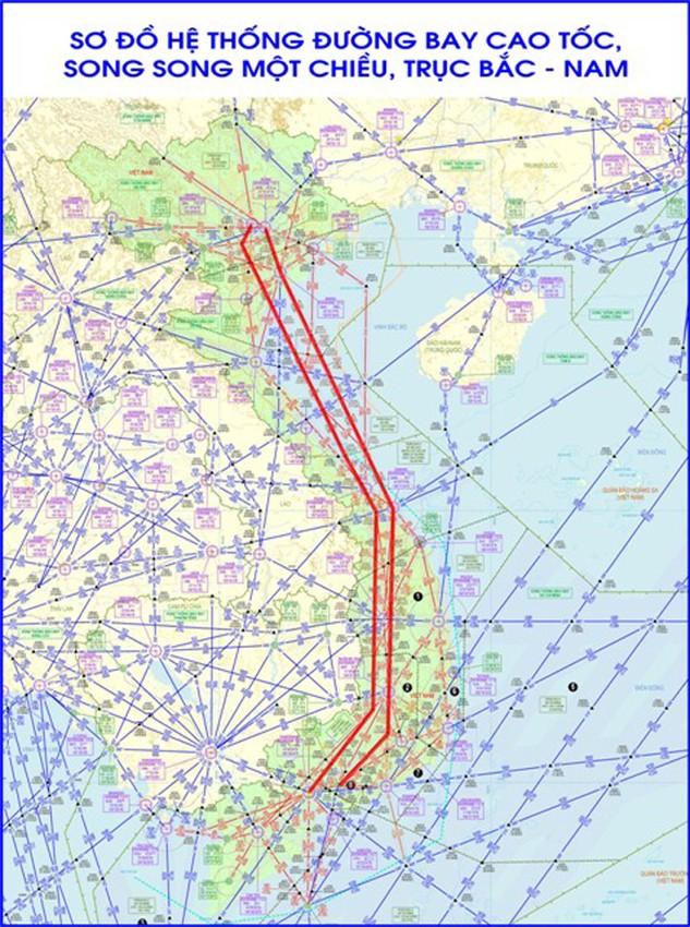Chính thức khai thác đường bay cao tốc trục Bắc - Nam