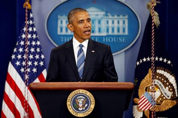 Tổng thống Mỹ Barack Obama tại Nhà Trắng. Ảnh: Reuters