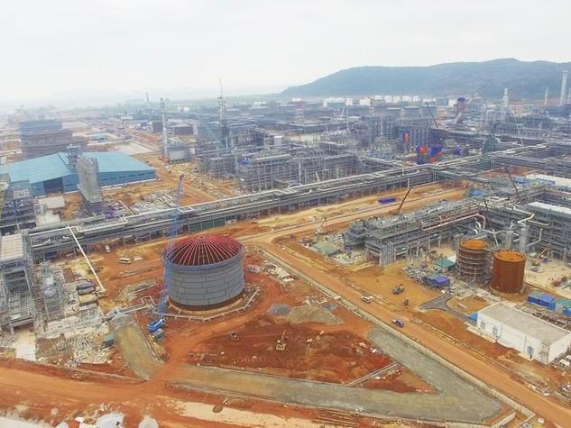 Theo kế hoạch, Dự án Lọc hoá dầu Nghi Sơn sẽ chính thức vận hành thương mại từ tháng 7/2017. Ảnh: Sĩ Chức