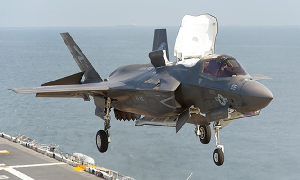 Chiến đấu cơ F-35 của Mỹ. Ảnh: USNI