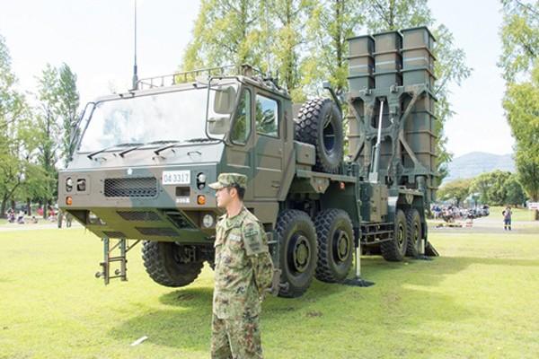 Tên lửa tầm trung đất đối không Type-03. Ảnh:Flickr