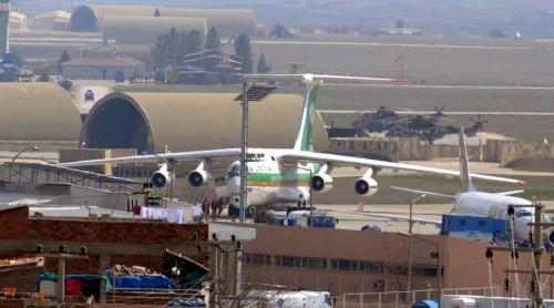 Sân bay Diyarbakir của Thổ Nhĩ Kỳ. Ảnh: Reuters