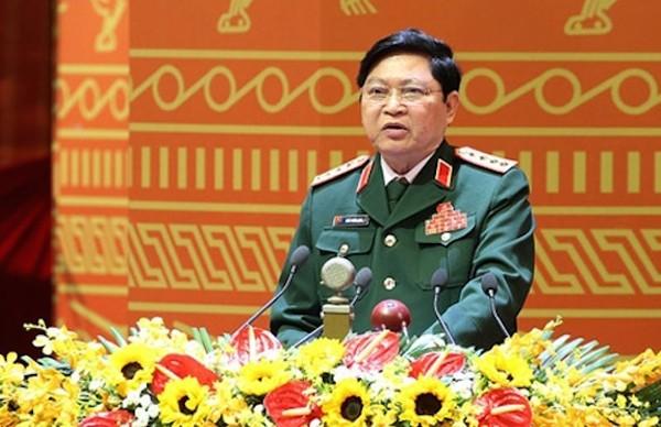 Đại tướng Ngô Xuân Lịch, Bộ trưởng Bộ Quốc phòng. Ảnh: TTXVN.