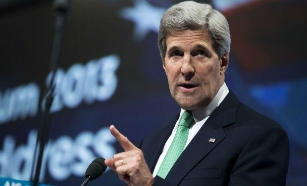 Ngoại trưởng Mỹ John Kerry. (Nguồn: AFP)