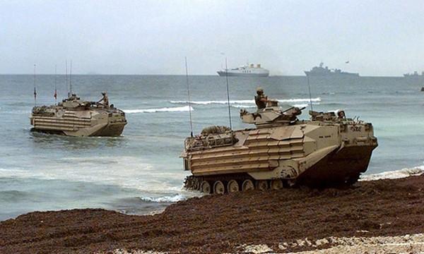 Xe chiến đấu đổ bộ AAV7. Ảnh: BAE Systems